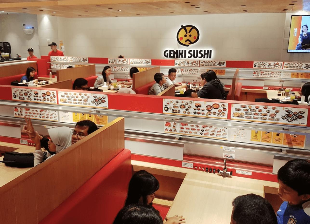 Genki Sushi Paskal Bandung