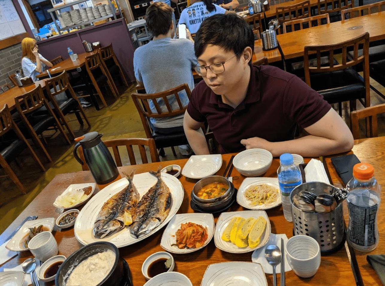 Restoran Korea di Semarang
